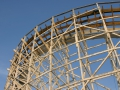 Geauga Lake Amusement Park; Raging Wolf Bobs Roller Coaster