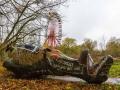 Abandoned Berlin Spreepark Amusement Fun Park-9987