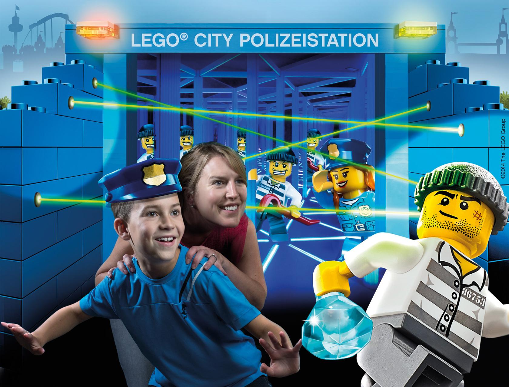 "Legoland deutschland opent laserparcours ""lego city polizeistation"