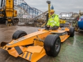 Construction 2018 Nick Thompson and F1 Car