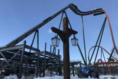 Yukon Striker - Lift Hill