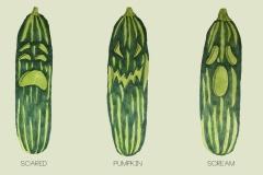 Horrorkas-komkommers