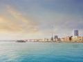 British Airways i360 landscape shot from sea
