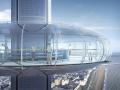British Airways i360 passenger pod from exterior
