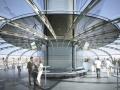 British Airways i360 passenger pod interior