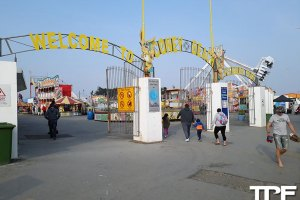 Coney Beach Pleasure Park - april 2019
