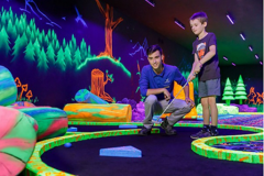 Indoor-minigolf