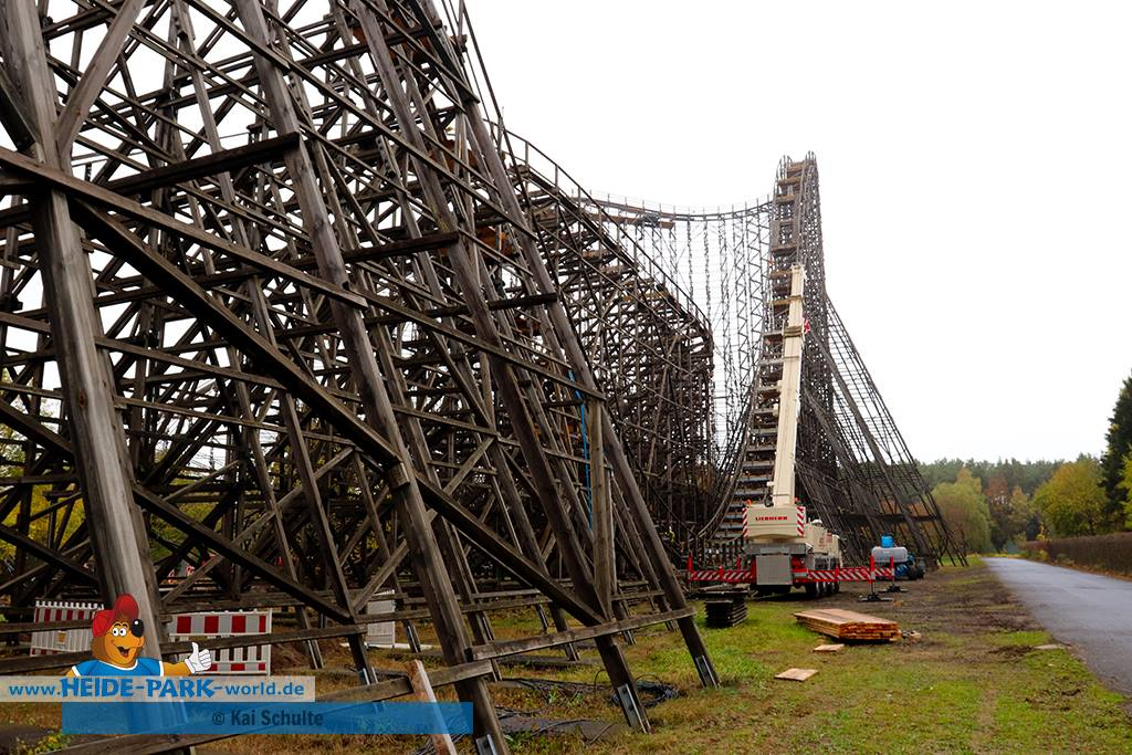 Colossos heide unfall park Merlin Entertainments
