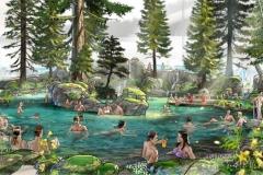Skog-lagune
