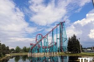 Six Flags Darien Lake - juli 2019