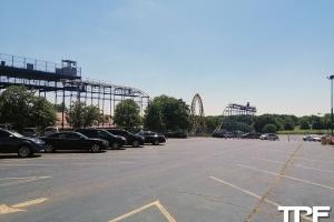 Six Flags Frontier City - juli  2019