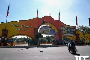 Six Flags Mexico  - november 2014