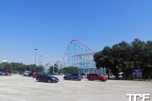 Six Flags Over Texas - juli 2019