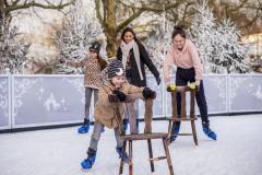 Winter-Efteling-schaatsbaan-IJspaleis